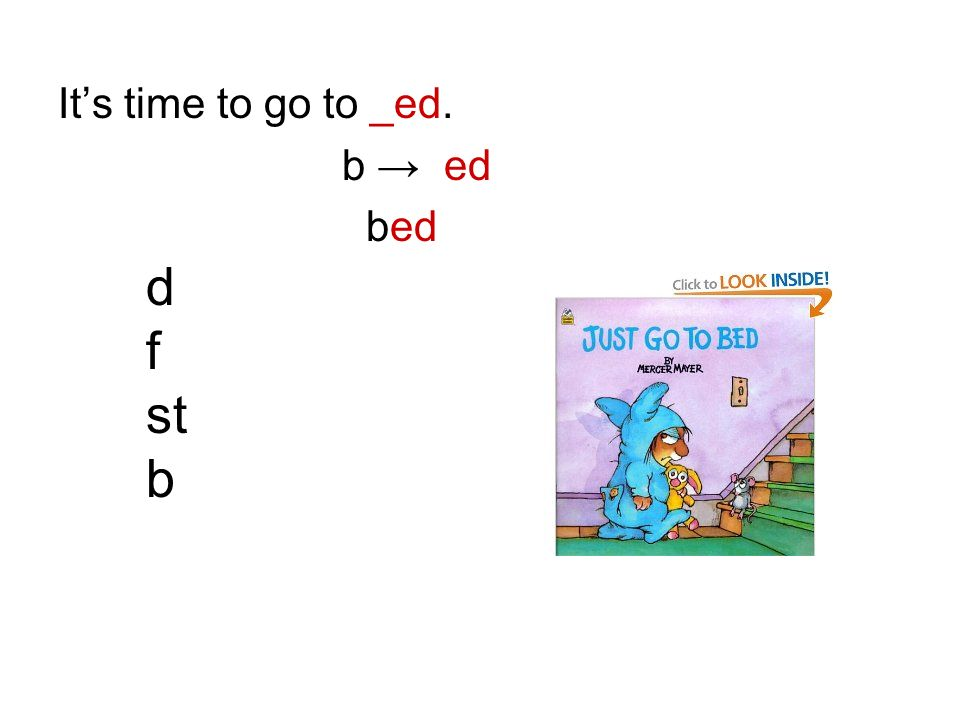 Its time to go to _ed. b ed d f st b