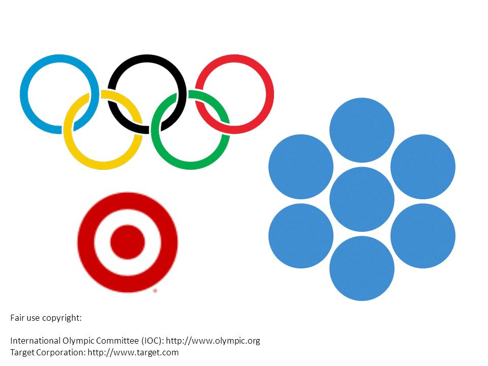 Fair use copyright: International Olympic Committee (IOC):   Target Corporation: