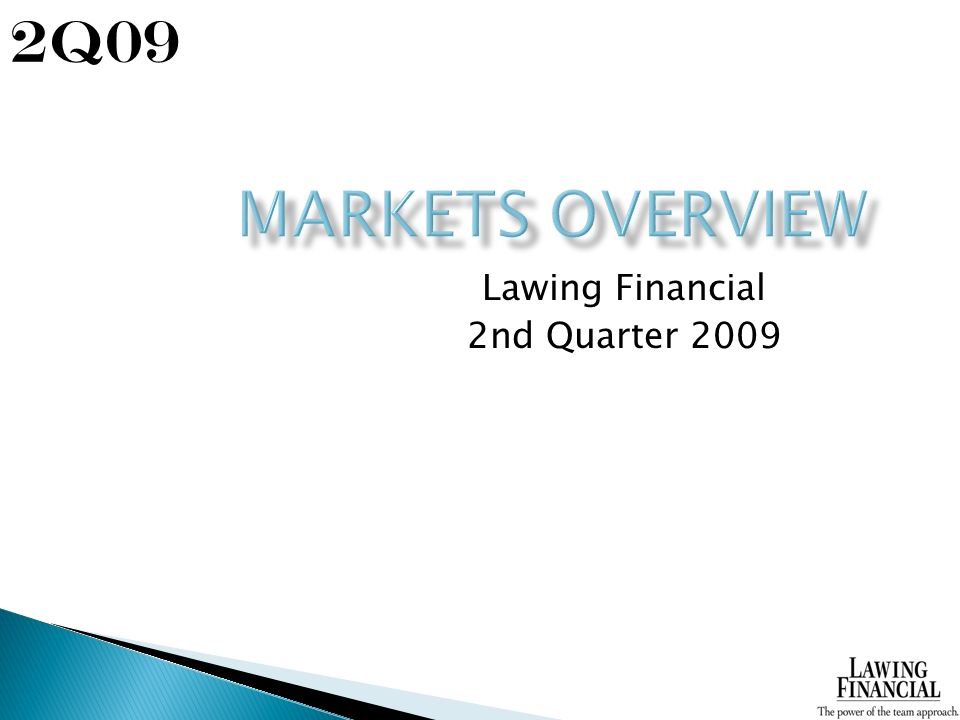 Lawing Financial 2nd Quarter Q09
