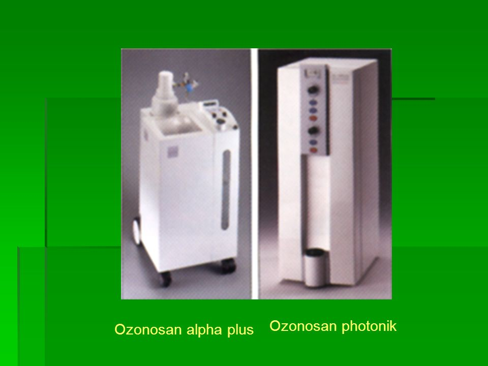Ozonosan alpha plus Ozonosan photonik