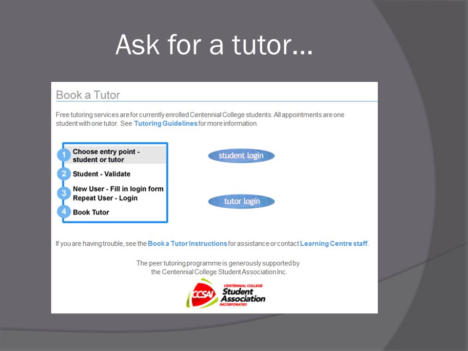 Ask for a tutor…