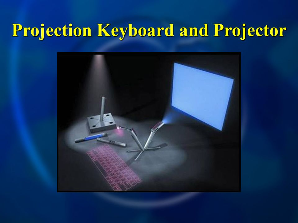 Projection Keyboard and Projector