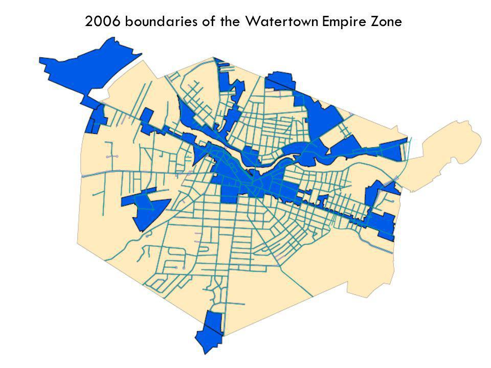 5 2006 boundaries of the Watertown Empire Zone