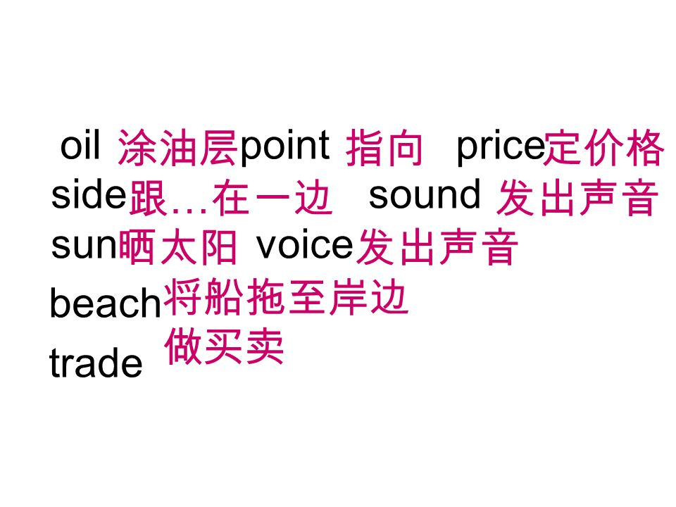 oil point price side sound sun voice beach trade …