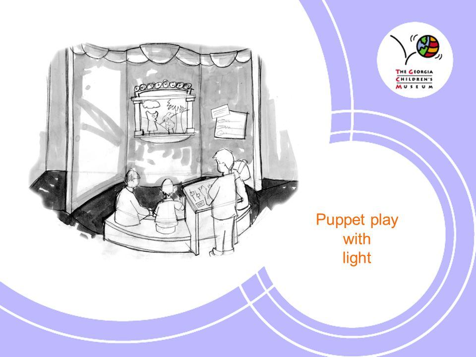 Puppet play with light
