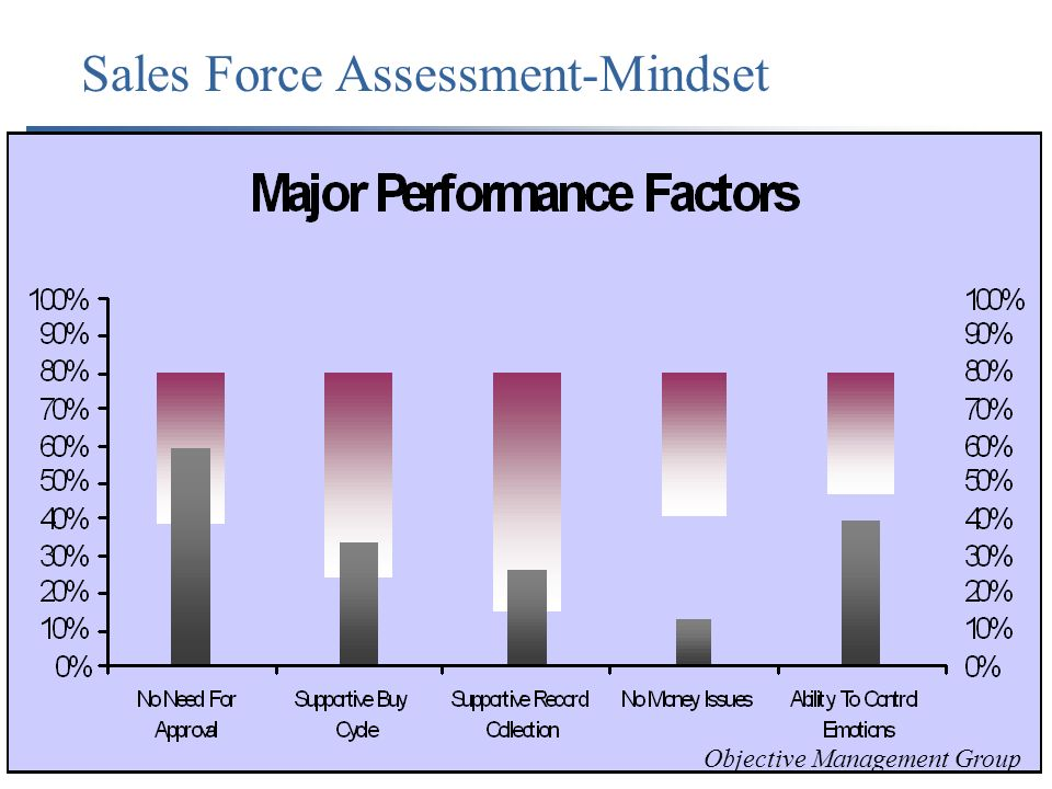 Sales Force Assessment-Mindset Objective Management Group