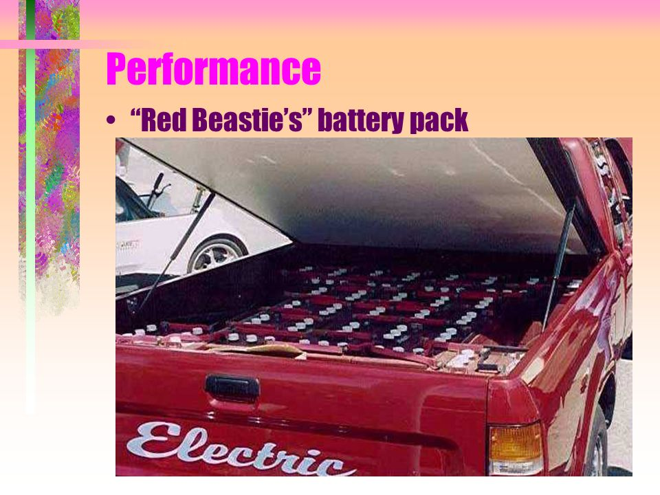 Performance Red Beasties battery pack