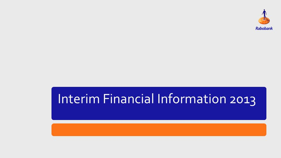 Titeldia Interim Financial Information 2013