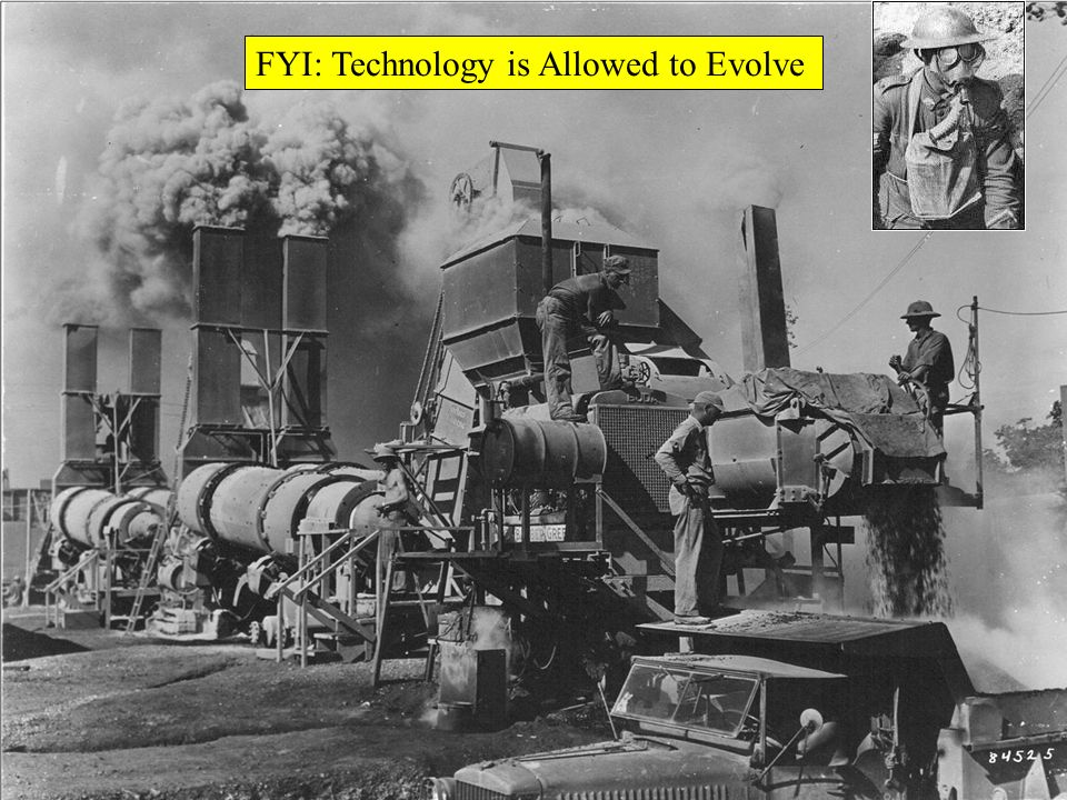FYI: Technology is Allowed to Evolve