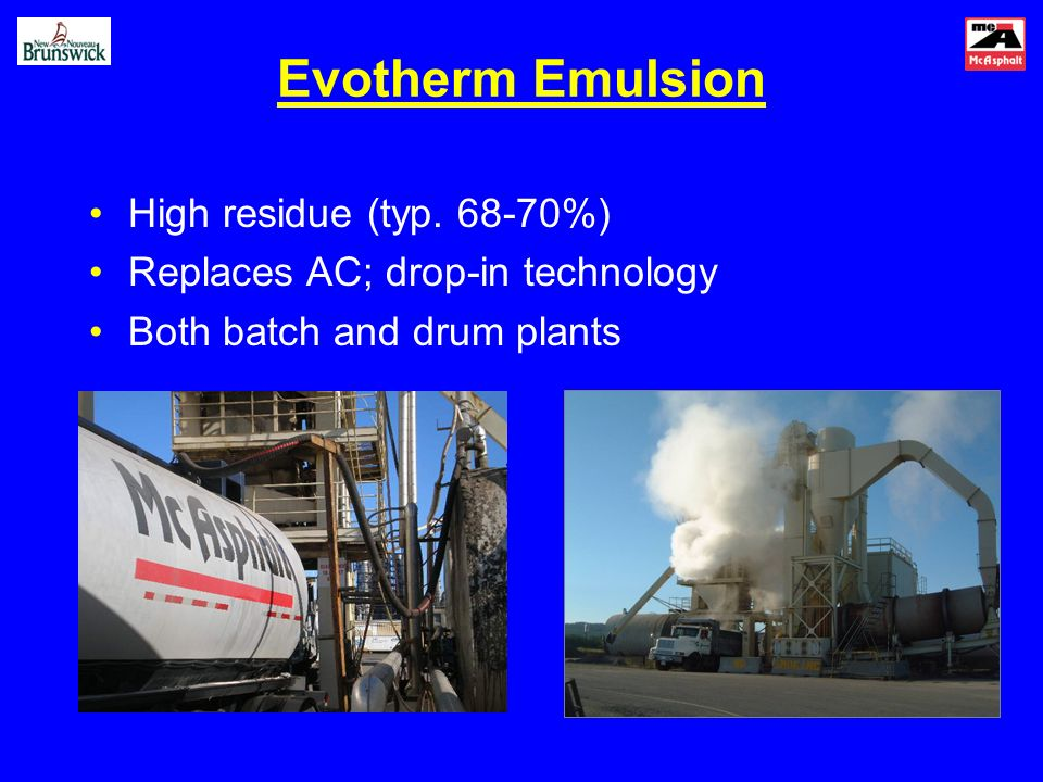 Evotherm Emulsion High residue (typ.