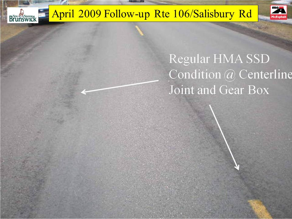 April 2009 Follow-up Rte 106/Salisbury Rd