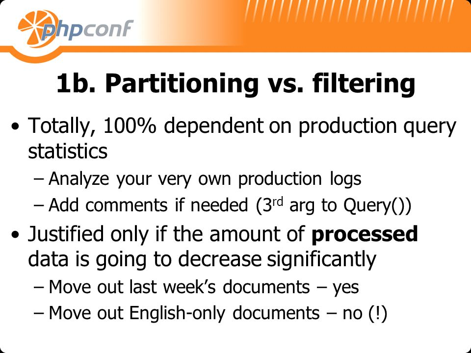 1b. Partitioning vs.