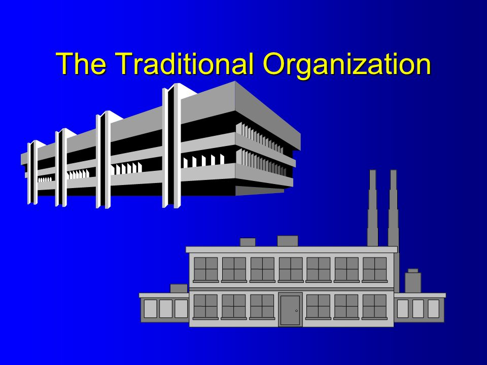 The Traditional Organization