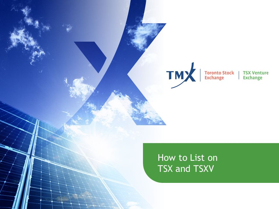 How to List on TSX and TSXV 25