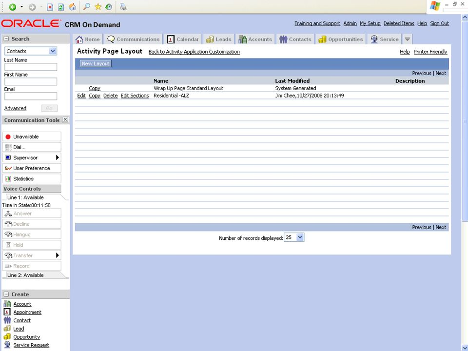 © 2008 Oracle Corporation – Proprietary and Confidential 15 Demo Tip: Example Screenshot
