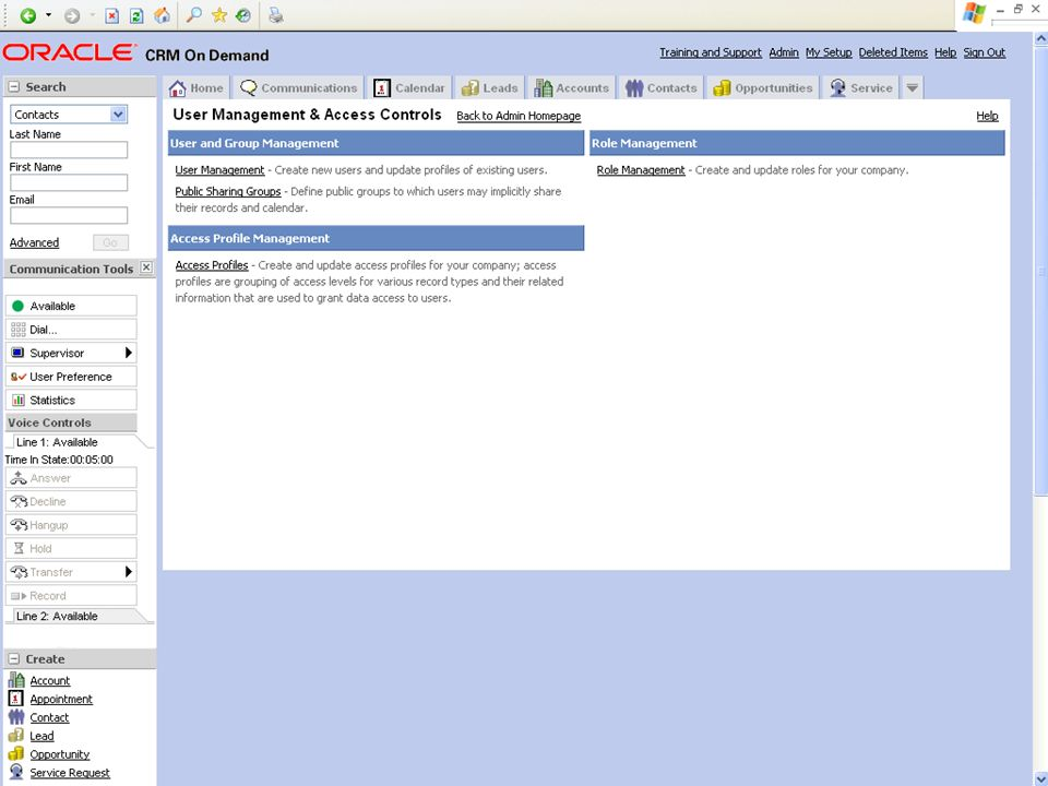 © 2008 Oracle Corporation – Proprietary and Confidential 17 Demo Tip: Example Screenshot