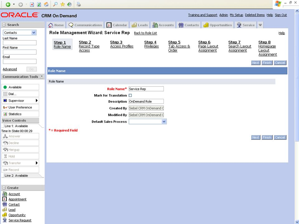 © 2008 Oracle Corporation – Proprietary and Confidential 19 Demo Tip: Example Screenshot