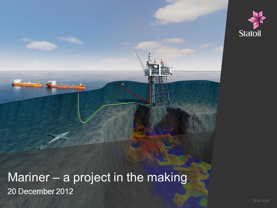 Mariner – a project in the making 20 December