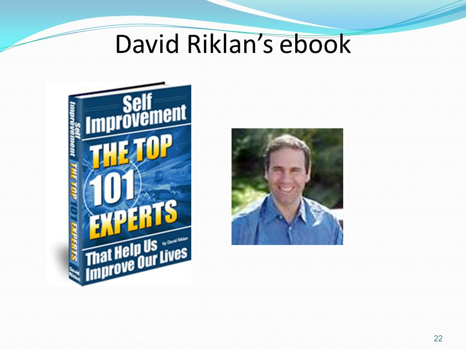 David Riklans ebook