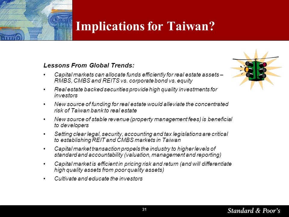 31 Implications for Taiwan.