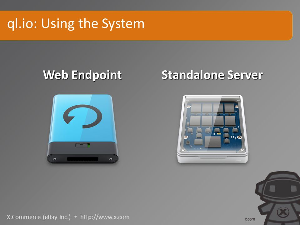 X.Commerce (eBay Inc.)   ql.io: Using the System Standalone Server Web Endpoint