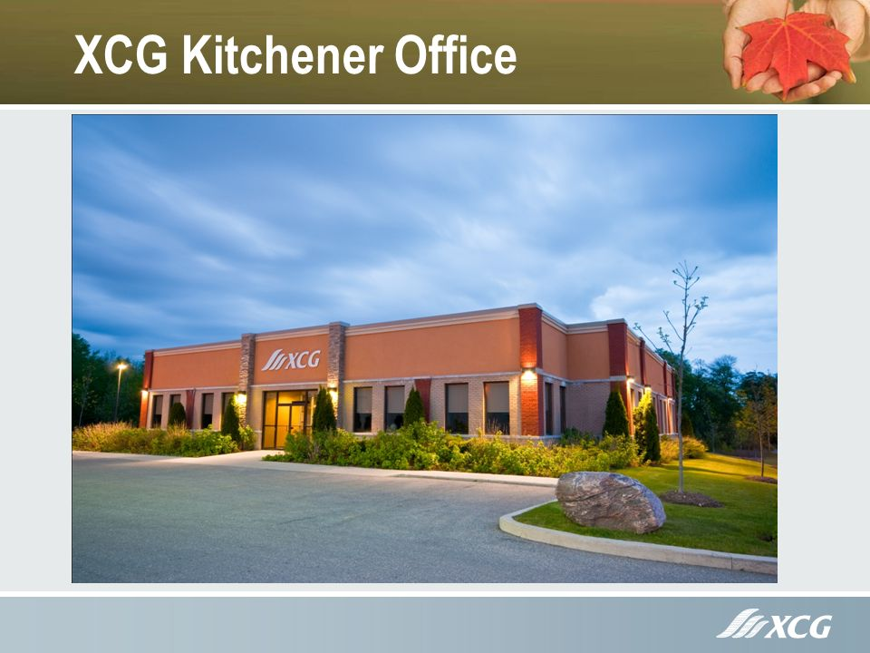 XCG Kitchener Office