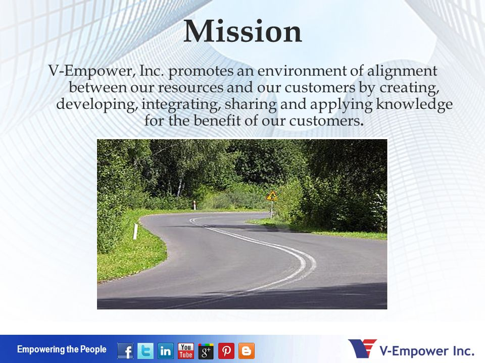 Empowering the People V-Empower, Inc.
