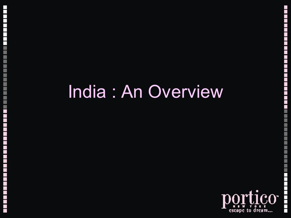 India : An Overview
