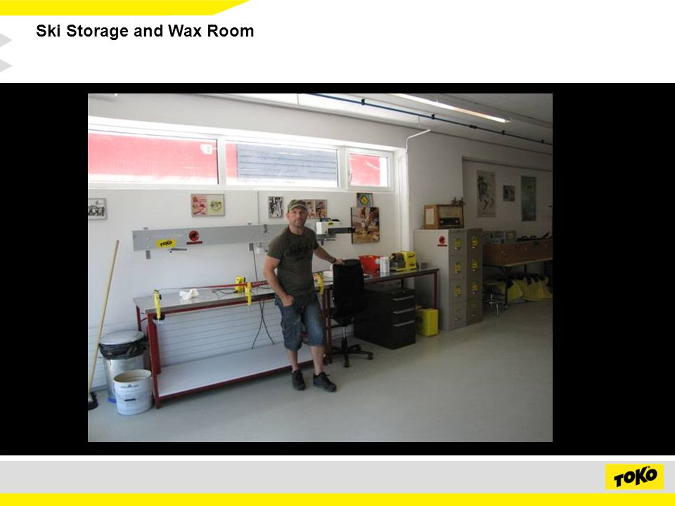 Ski Storage and Wax Room