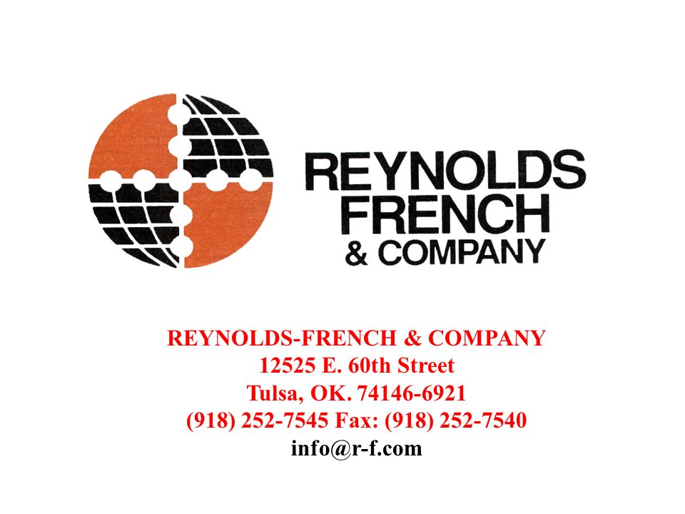 REYNOLDS-FRENCH & COMPANY E. 60th Street Tulsa, OK.