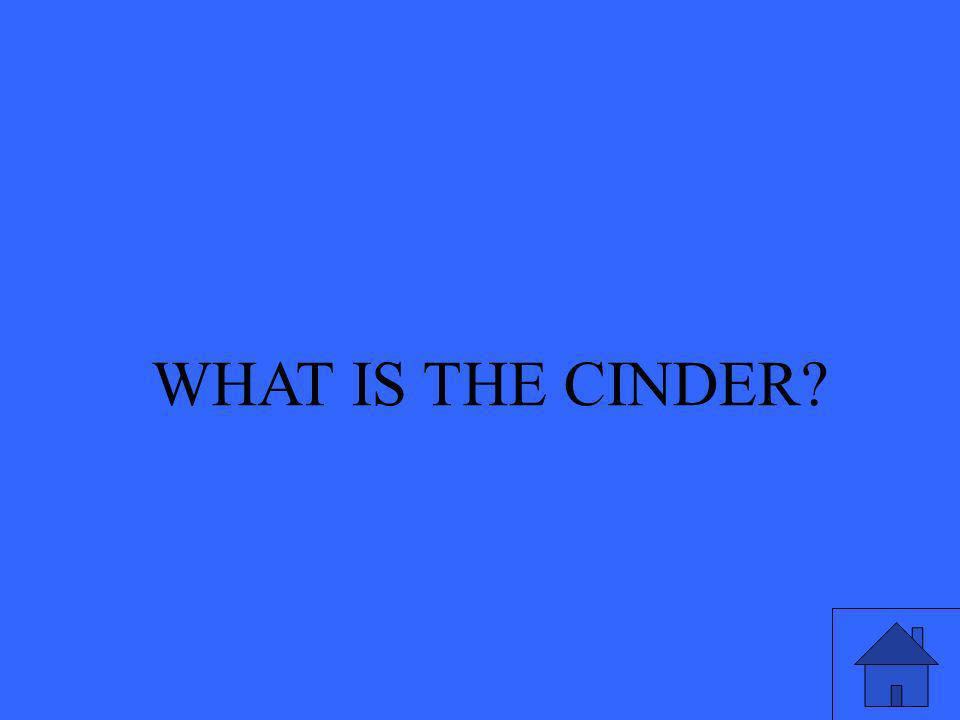 WHAT IS THE CINDER