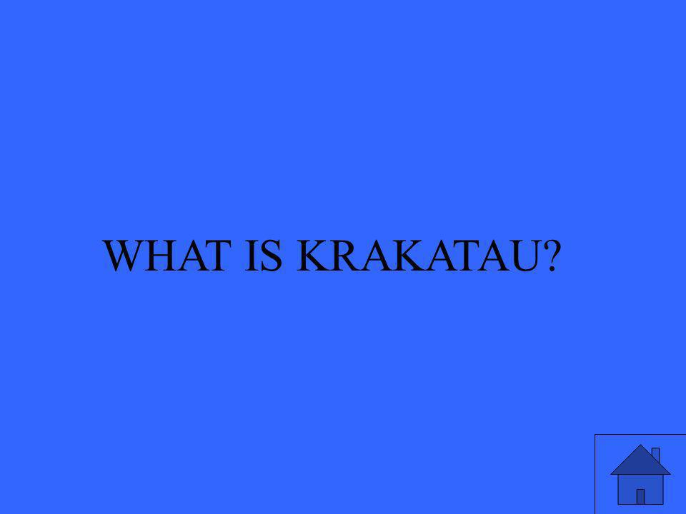 WHAT IS KRAKATAU