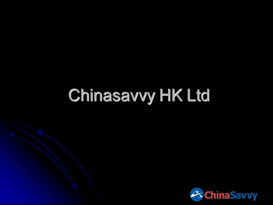 Chinasavvy HK Ltd