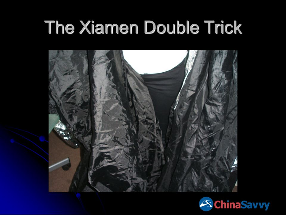 The Xiamen Double Trick