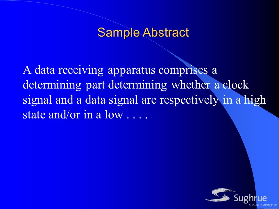 Sample Abstract A data receiving apparatus comprises a determining part determining whether a clock signal and a data signal are respectively in a high state and/or in a low....