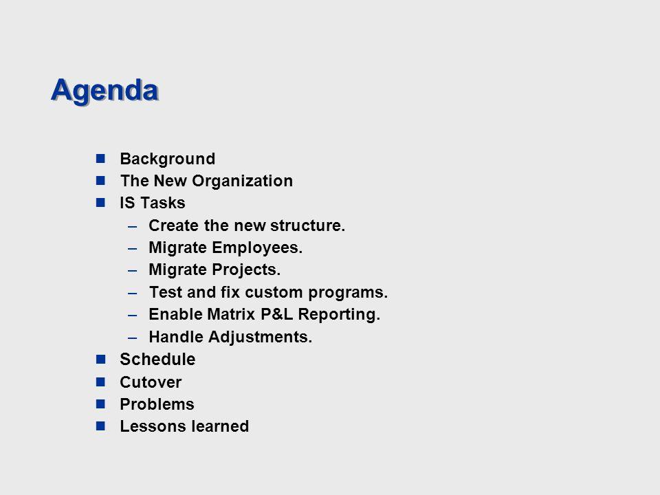 Camp Dresser Mckee 2 Agenda Background