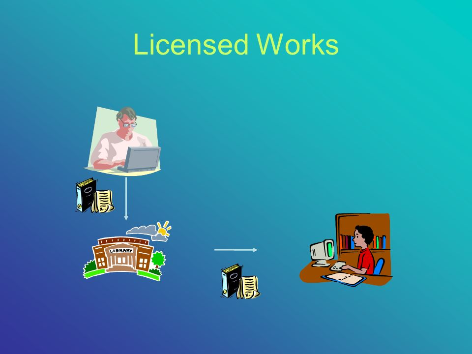 Licensed Works