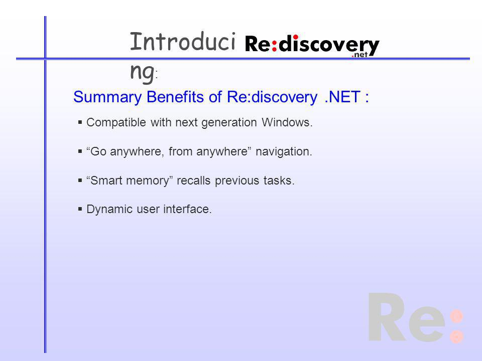 Introduci ng : Compatible with next generation Windows.