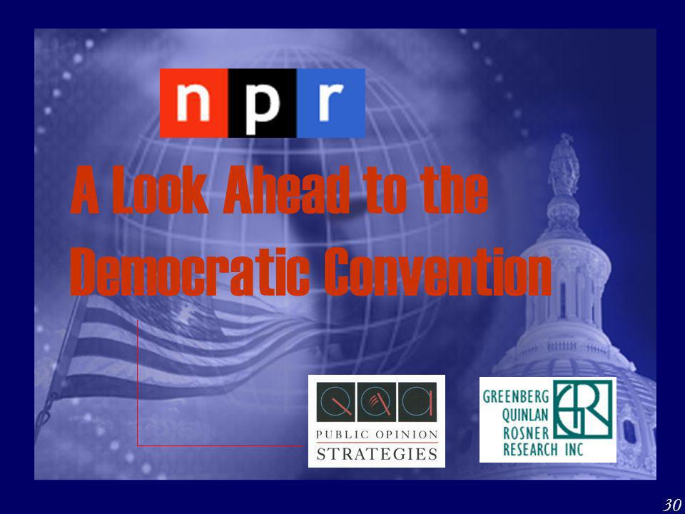 A Look Ahead to the Democratic Convention 30