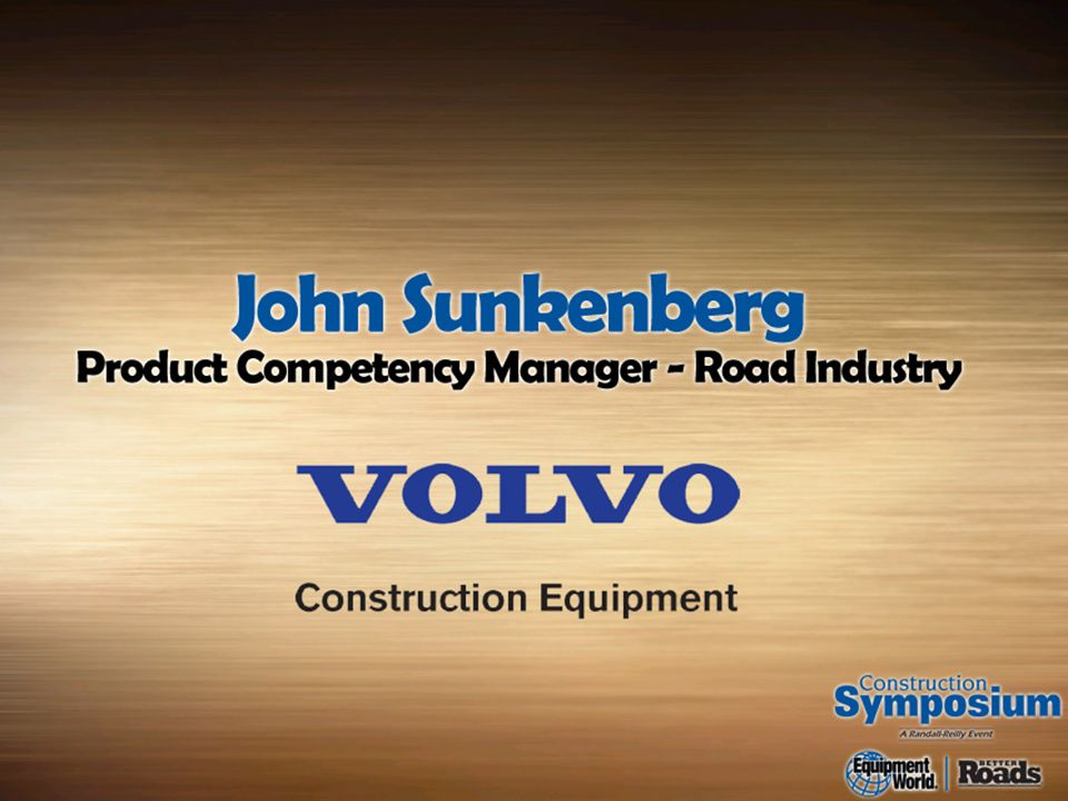 Volvo Construction Equipment Road Institute Paving Principles
