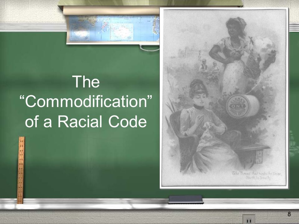 8 TheCommodification of a Racial Code
