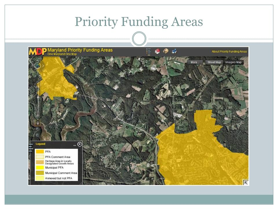 Priority Funding Areas
