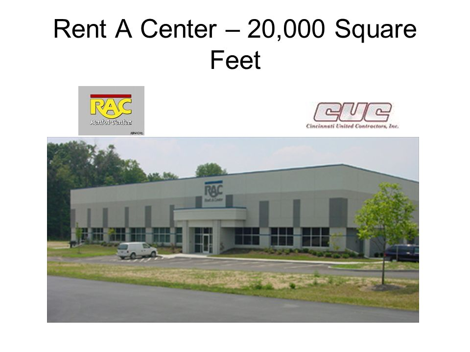 Rent A Center – 20,000 Square Feet