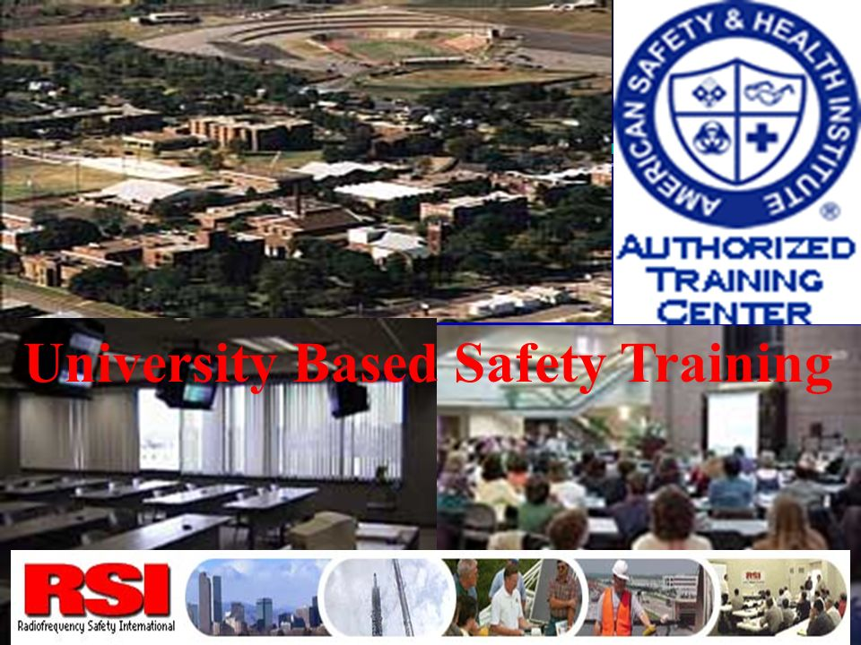 University Based Safety Training