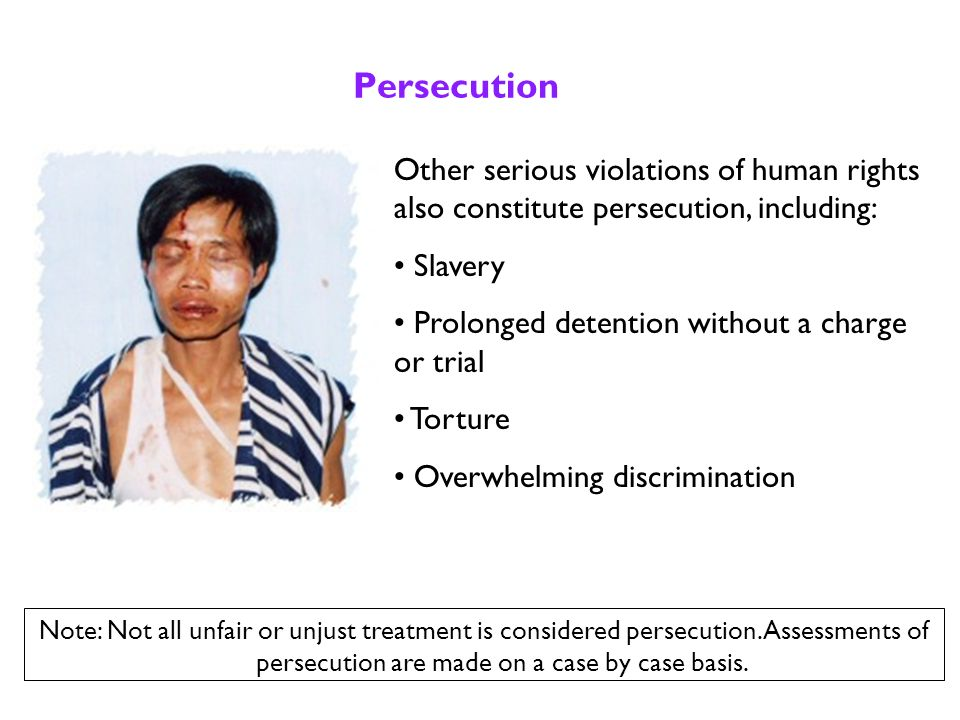What is Persecution.