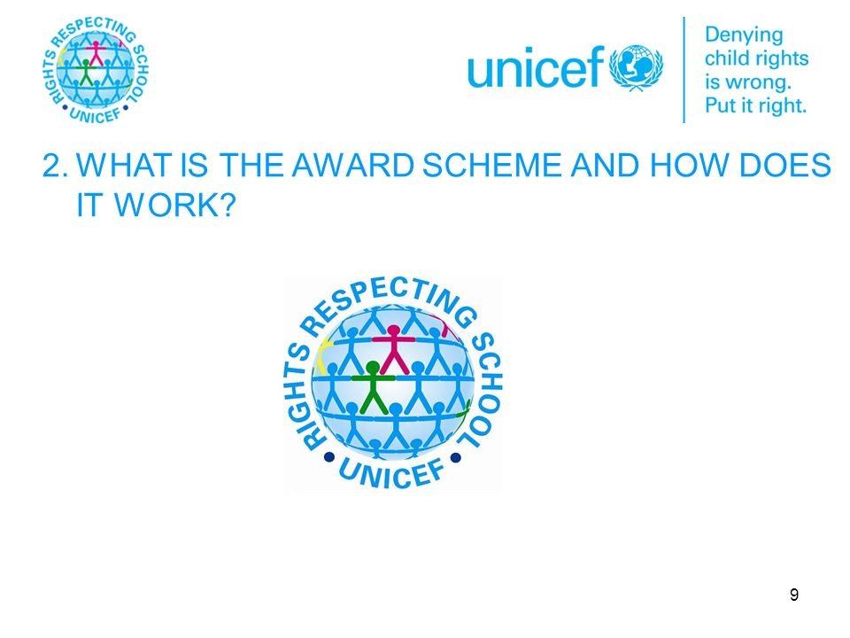 9 2.WHAT IS THE AWARD SCHEME AND HOW DOES IT WORK