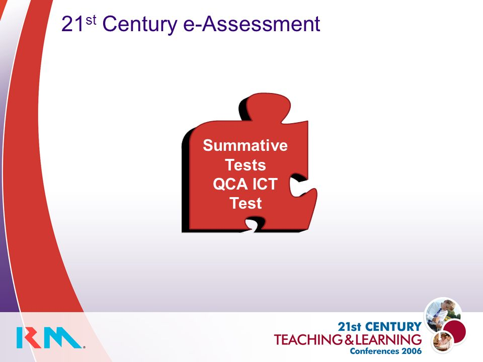 21 st Century e-Assessment Summative Tests QCA ICT Test