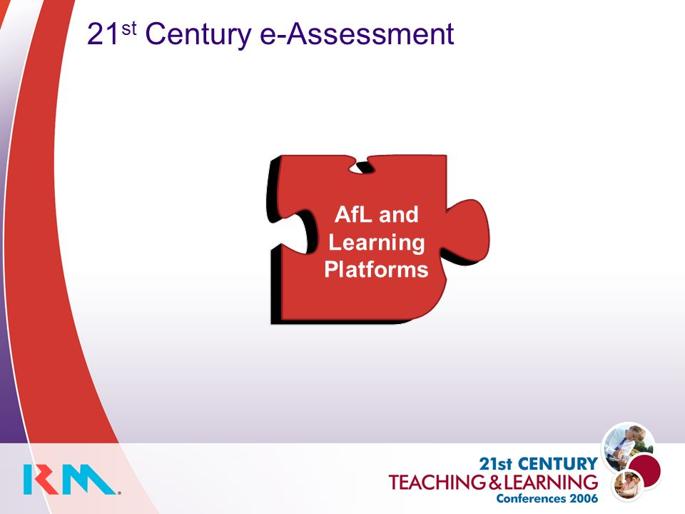 21 st Century e-Assessment AfL and Learning Platforms