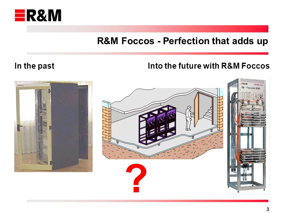 3 In the pastInto the future with R&M Foccos R&M Foccos - Perfection that adds up