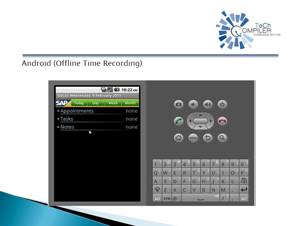 Android (Offline Time Recording)